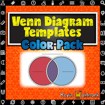 Venn Diagram Templates Color Pack