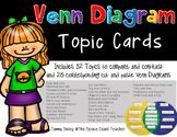 Venn Diagram Topic Cards and Printables