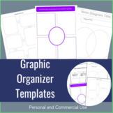 Venn Diagram Worksheet and Graphic Organizers