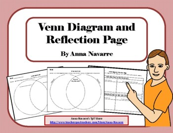 Venn Diagram and Reflection Page