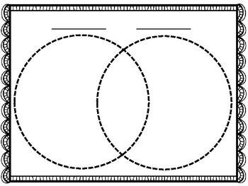 Venn Diagram Blank Template By Lesson Plan It Tpt