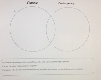 Venn Diagram for Analyzing Art