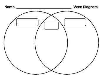 Venn Diagrams - FREEBIE
