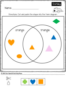 Venn Diagrams {Cut and Paste}