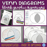 Venn Diagrams -- Differentiated for Learners, PLUS Digital