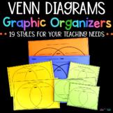 Venn Diagrams - Graphic Organizers - Printables