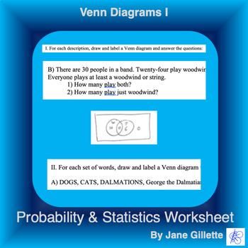 Venn Diagrams I