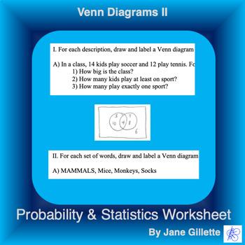 Venn Diagrams II