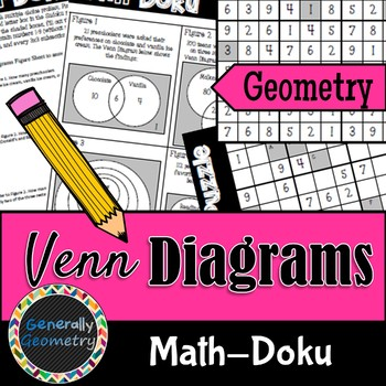 Venn Diagrams Math Doku Geometry Sudoku Logic By Generally Geometry