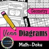 Venn Diagrams Math-Doku; Geometry, Sudoku, Logic