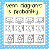 Venn Diagrams & Probability Mega Worksheet Pack