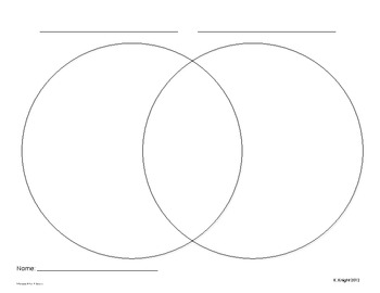 Venn Diagrams for any topic