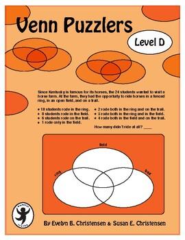 Venn Puzzlers Level D