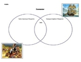 Venn diagram to use with Jane Yolen's book Encounter