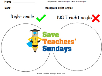 Venn diagrams lesson plans, worksheets and more