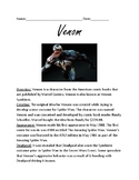 Venom - comic book character - review article lesson facts information