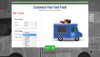 Venture - Entrepreneurial Expedition - Digital Food Truck Simulation