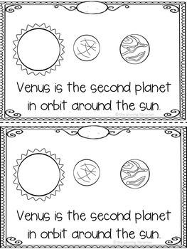 Venus Emergent Reader