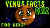 Venus Facts Quiz!