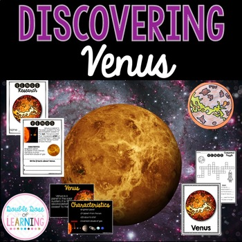 The Solar System: Planet Venus Research Unit with PowerPoint