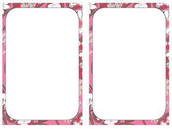 Vera Notepad/ Name Tag/ Labels