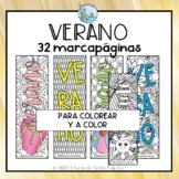 Verano Spanish Bookmarks - Puntos de libro Verano