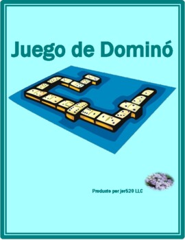 Verano (Summer in Spanish) Dominoes