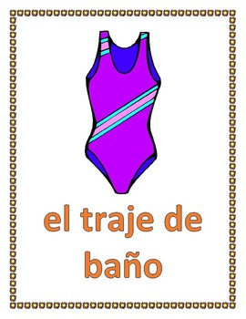 Verano (Summer in Spanish) Posters