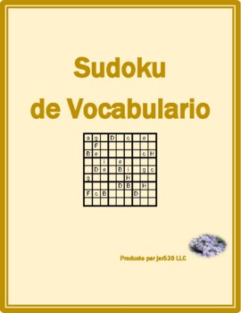 Verano (Summer in Spanish) Sudoku