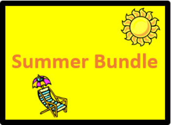 Verão (Summer in Portuguese) Bundle