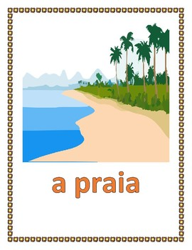 Verão (Summer in Portuguese) Posters