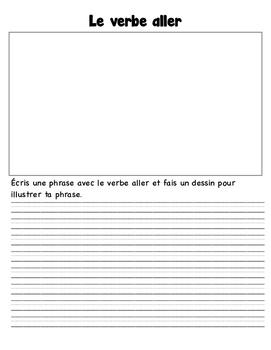 Verb ALLER Worksheets