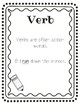 Verb Activities Packet