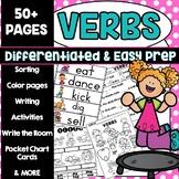 Verb Kindergarten First Grade