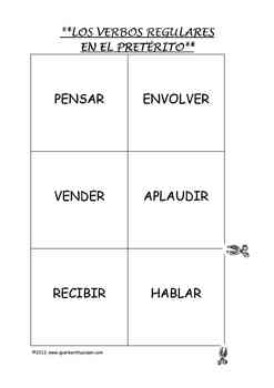 Verb Activities and Games for All Spanish Classes / Actividades para Verbos