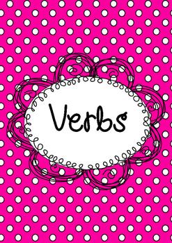 Verb Activity Bundle