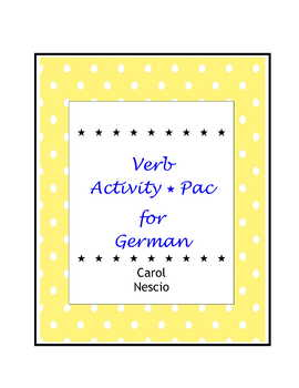 Verb * Activity Pac For German