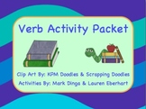 Verb Activity Packet -- (Poem, Activities, Game, and Fun!)