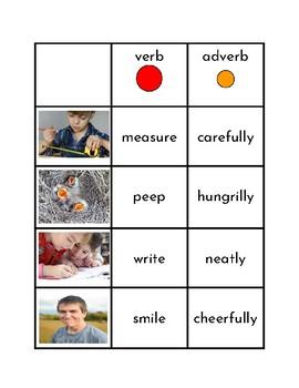 Verb/Adverb Matching