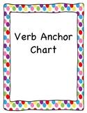 Verb Anchor Chart - Polka Dots