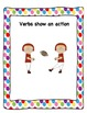 Verb Anchor Chart - Polka Dots