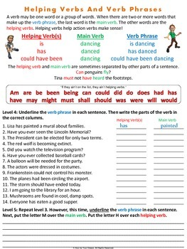 Verb Appeal - Verb Printables