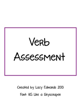 Verb Assessment