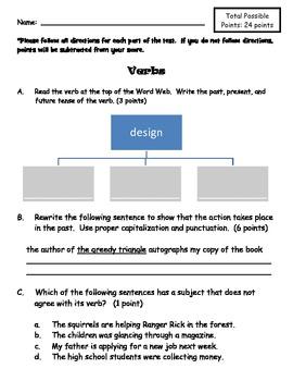 Verbs Assessment
