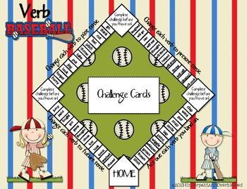 Verb Baseball Game
