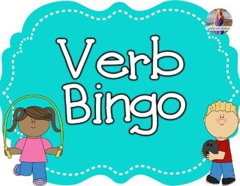 Verb Bingo!