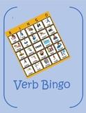 Verb Bingo- (Present Tense)