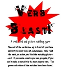 Verb Blast - A verb picture and word matching game