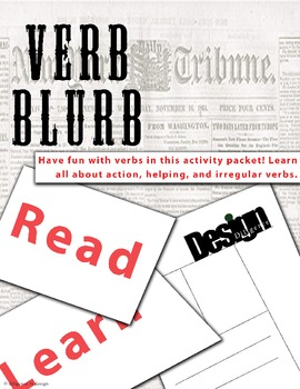 Verb Blurbs!