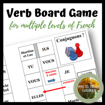 Verb Board Game